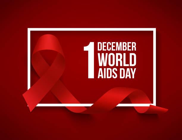 World aids day vector art illustration
