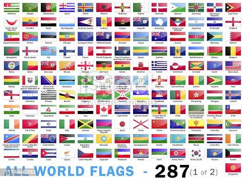 Vector Illustration World Flags