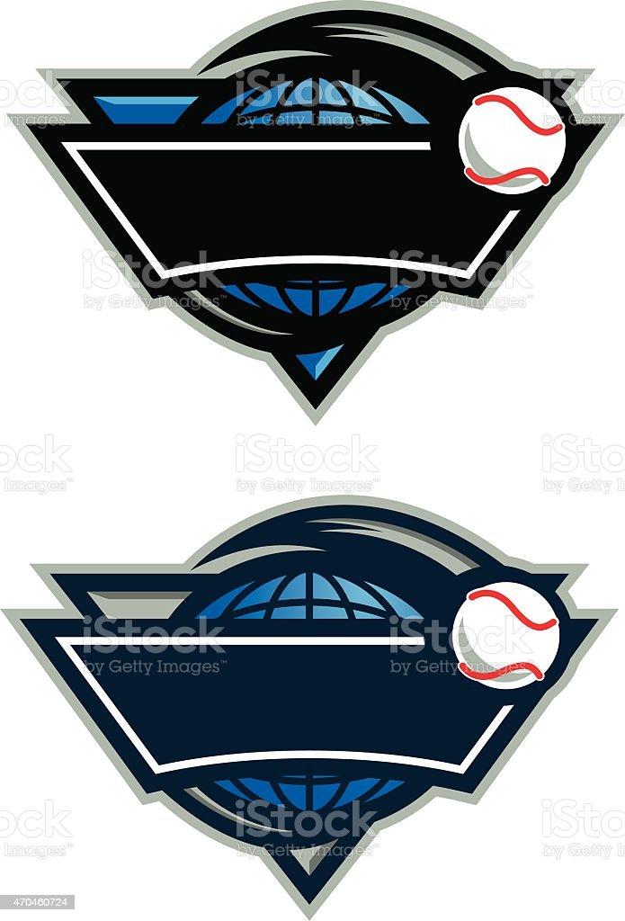 World Baseball Logo royalty-free world baseball logo stock vector art & more images of 2015