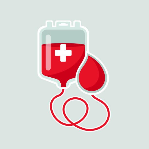 bildbanksillustrationer, clip art samt tecknat material och ikoner med world blood donor day 14 juni koncept - ge