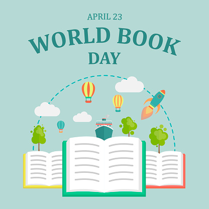 World Book Day, 23 April.