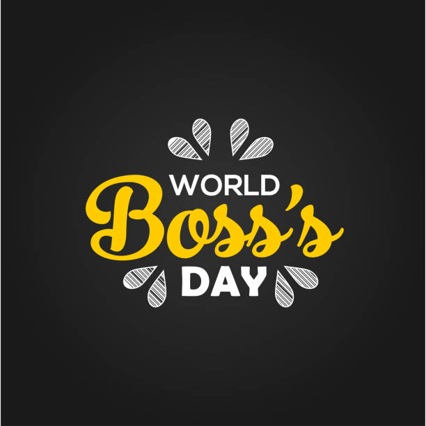 World Boss Day Vector Design Template vector art illustration