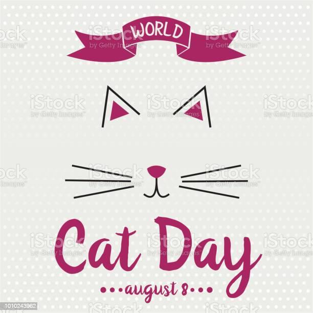 World cat day vector id1010243962?b=1&k=6&m=1010243962&s=612x612&h=4cgwbydk5hd3lraa r0gh yfkfzaq4gphp2su5nxzeq=