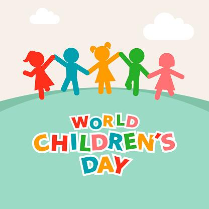 World Children Hand in Hand