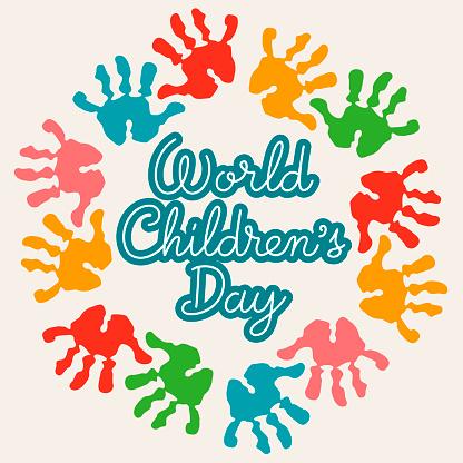 World Children's Day Handprints