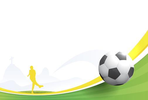 World cup football - Brazil 2014