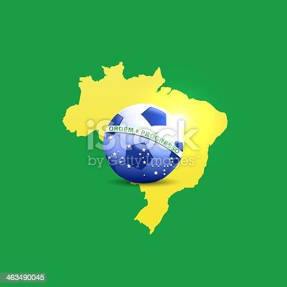 istock World cup soccer - Brazil 2014 463490045