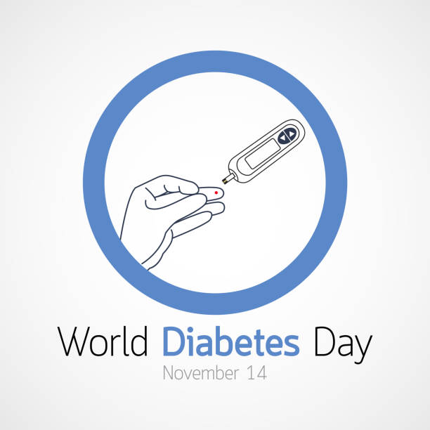 World Diabetes Day vector icon illustration vector art illustration