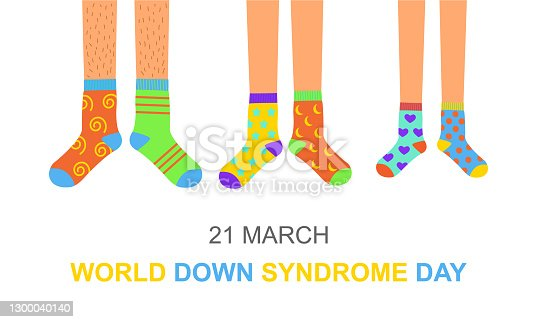 istock World Down syndrome day poster 1300040140
