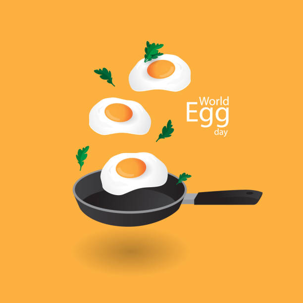 stockillustraties, clipart, cartoons en iconen met wereld ei dagen - egg