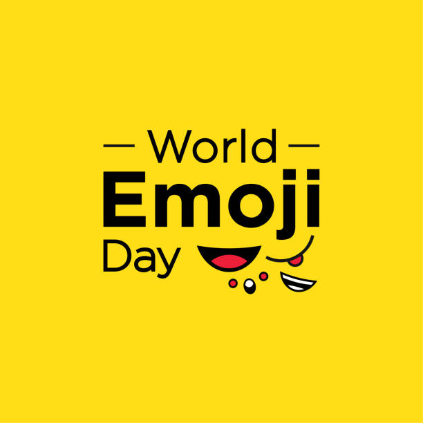 World Emoji Day Vector Design For Celebrate Moment vector art illustration