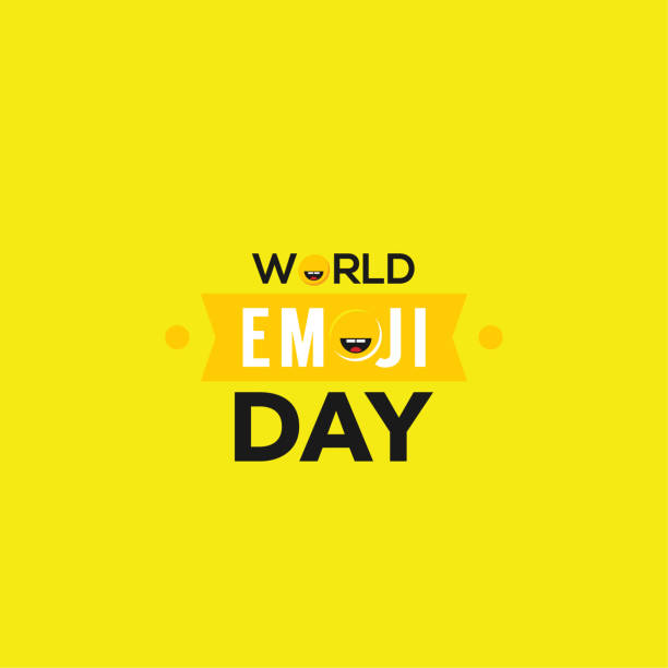 World Emoji Day Vector Design Template vector art illustration