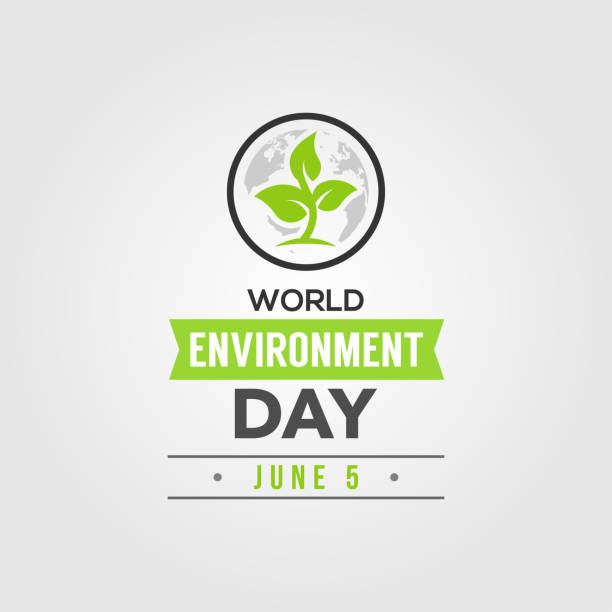 World Environment Day Vector Design Template vector art illustration