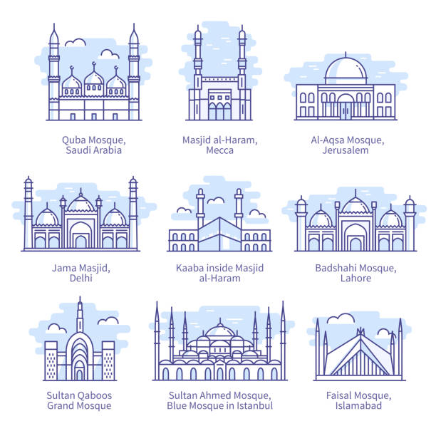 115 Al Aqsa Mosque Illustrations Clip Art Istock