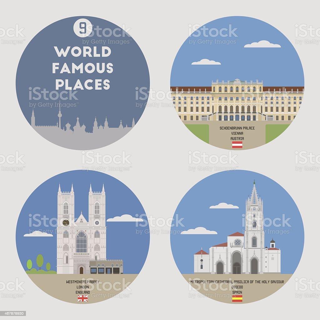 World famous places