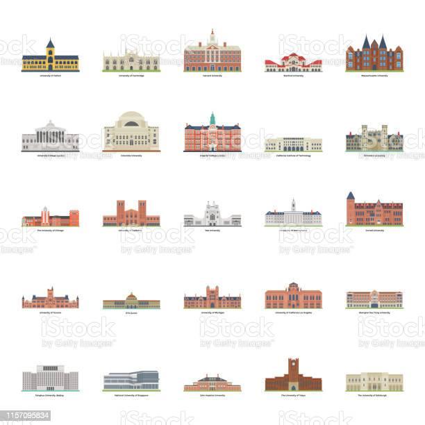 World famous universities illustration pack vector id1157095834?b=1&k=6&m=1157095834&s=612x612&h=izdj8ctcfga8t47zjixfvysrisxuqyssvzmw8oya 6u=