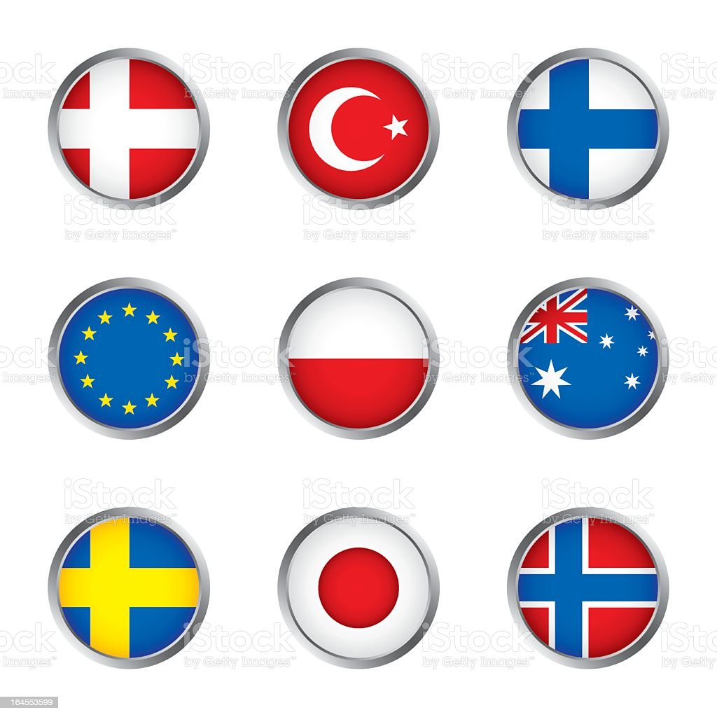 World flags collection C 3/4 royalty-free world flags collection c 34 stock vector art & more images of australia