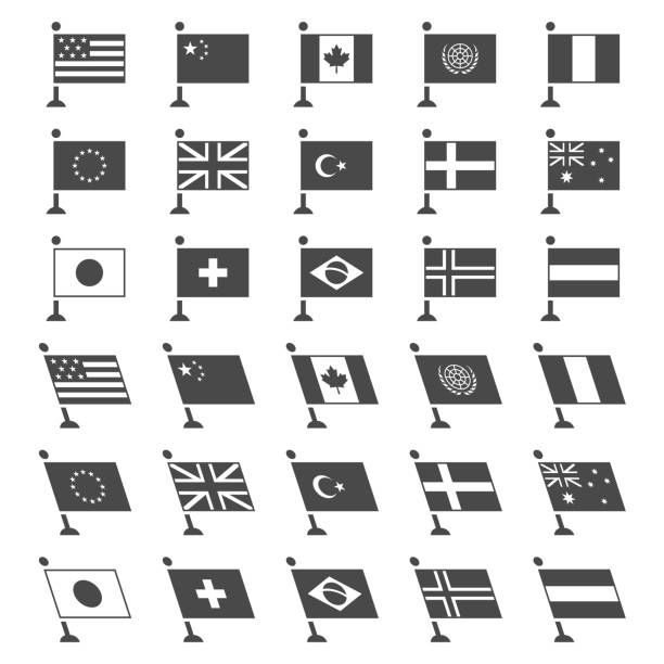 world flags - union jack flag stock illustrations, clip art, cartoons, & icons