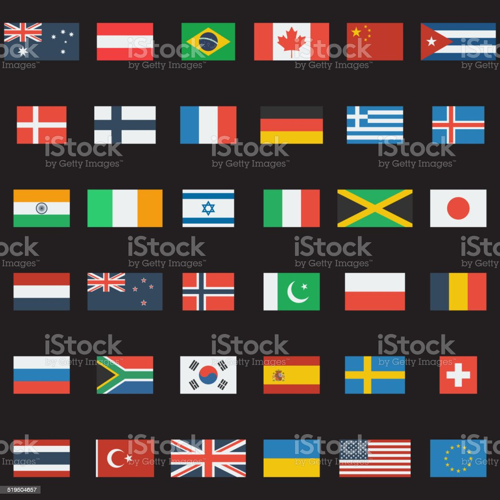 World Flags royalty-free world flags stock illustration - download image now