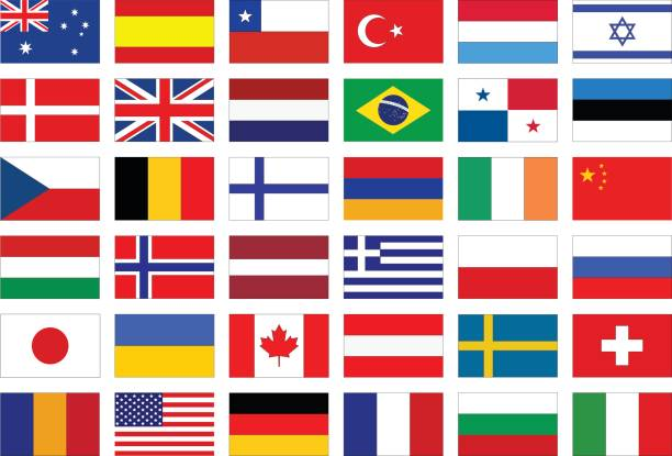 world flags - polish flag stock illustrations, clip art, cartoons, & icons