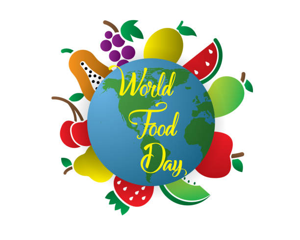 Best World Food Day Illustrations, Royalty-Free Vector ...