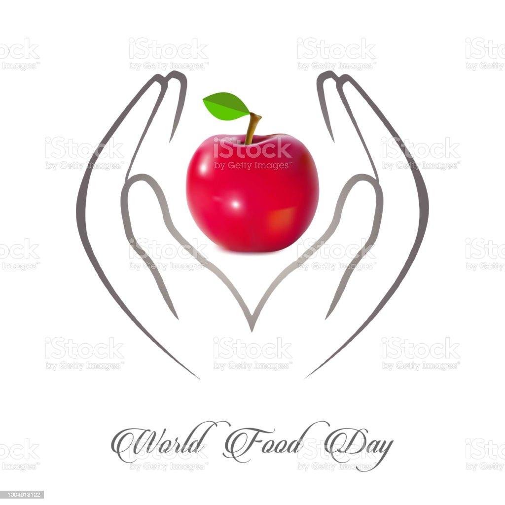 Ilustracion De Mundo Alimentos Dia Vector Ilustracion Tarjetas De Dia De Alimento De Mundo Cartel De Dia De La Alimentacion Mundial Y Mas Vectores Libres De Derechos De Acontecimiento Istock
