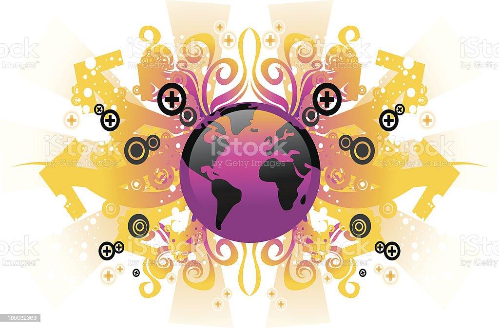 World globe design royalty-free world globe design stock vector art & more images of art