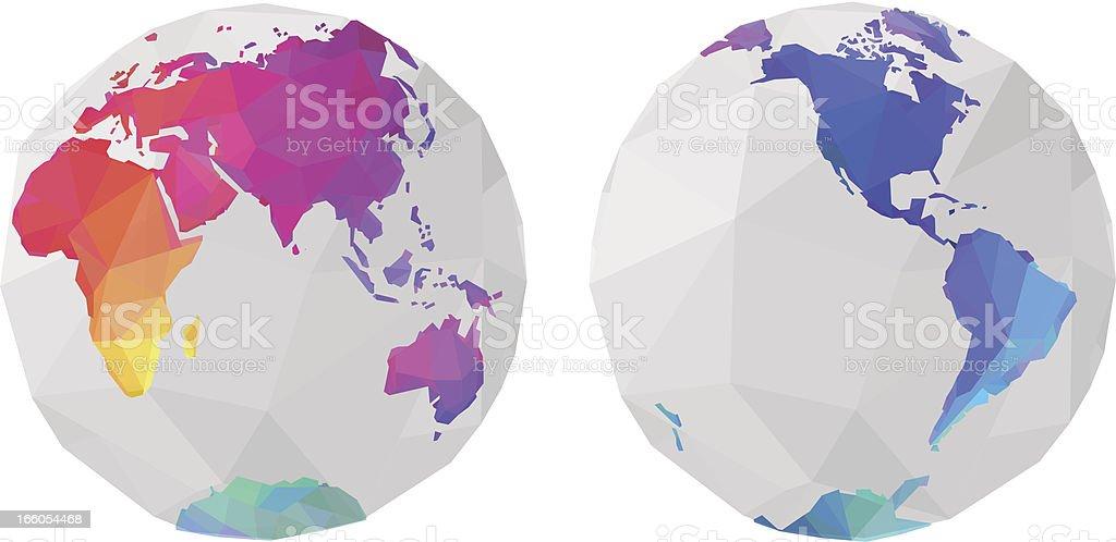 World globe royalty-free world globe stock vector art & more images of africa