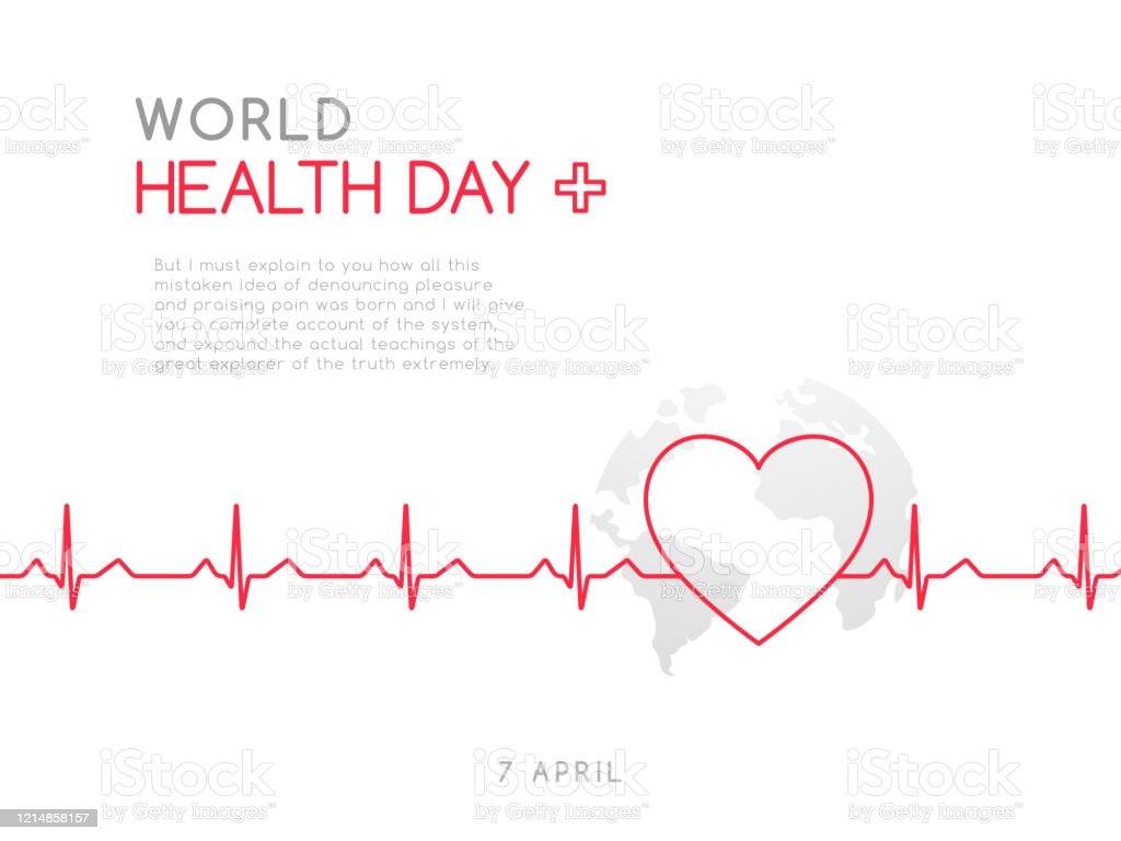 World Health Day 7 April Concept Medicine And Healthcare Banner Stock Vector Illustration Stock Illustration Download Image Now Istock