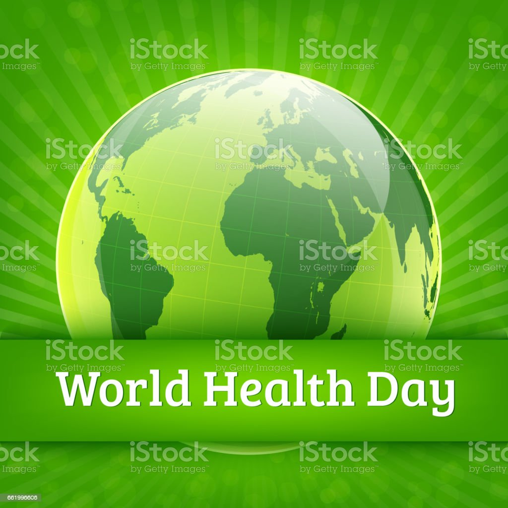 World Health Day vector background royalty-free world health day vector background stock vector art & more images of april