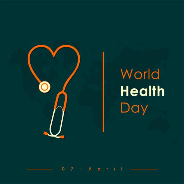 bildbanksillustrationer, clip art samt tecknat material och ikoner med världshälsodagen - kardiolog
