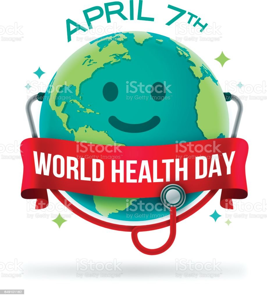 World Health Day vector art illustration
