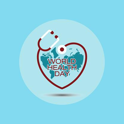 World health day vector illustration