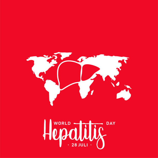 World Hepatitis Day Vector Design Template vector art illustration