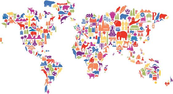 World Icon Map