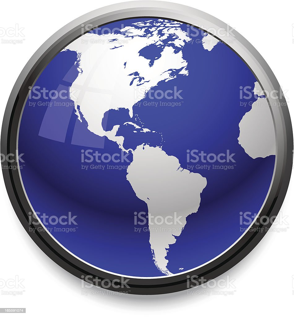 World Icon royalty-free world icon stock vector art & more images of black border