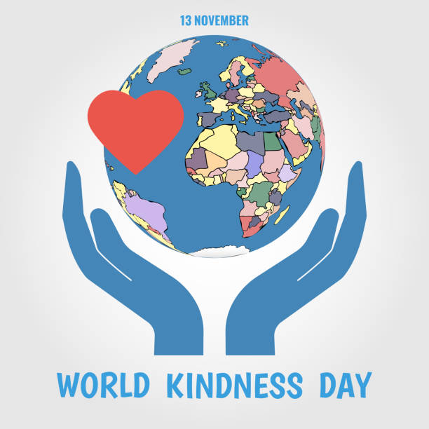 World Kindness Day Vector Illustration on the theme World Kindness Day. affectionate stock illustrations