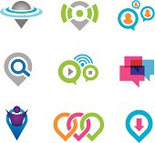 World location virtual social community network and real geographic positioning