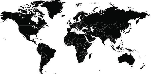 Siluetas de mapas
