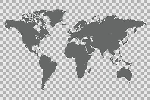 ilustrações de stock, clip art, desenhos animados e ícones de world map checker background - mapa mundi