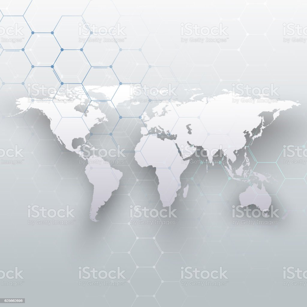 World map connecting lines and dots on gray color background stock world map connecting lines and dots on gray color background royalty free world map gumiabroncs Image collections