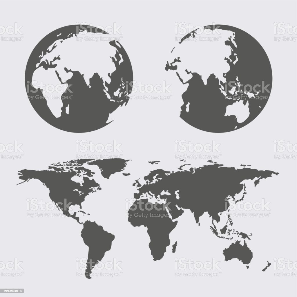 World map earth globes icon flat web sign symbol logo label arte world map earth globes icon flat web sign symbol logo label world map earth globes icon gumiabroncs Gallery