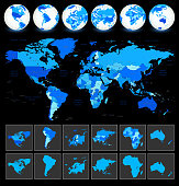 World Map Geography