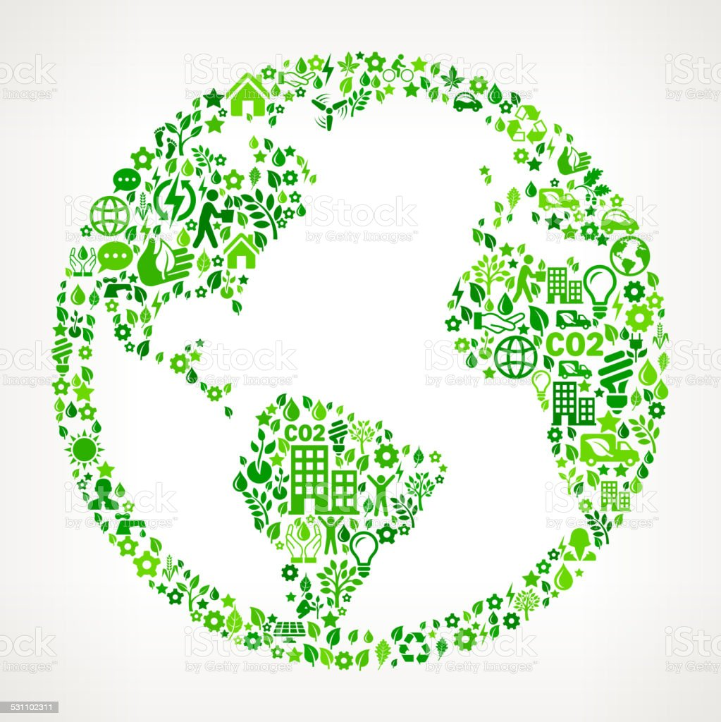 World Map Globe Environmental Conservation and Nature interface icon Pattern royalty-free world map globe environmental conservation and nature interface icon pattern stock illustration - download image now