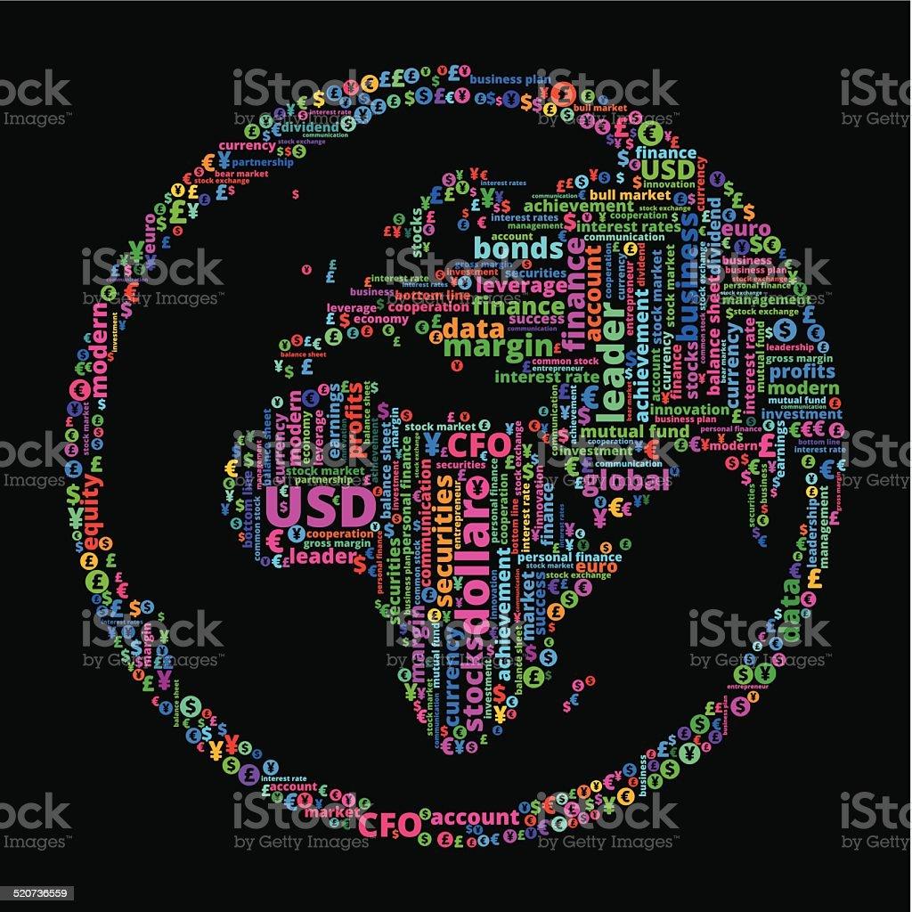 World map of word art word world clip art world wall sticker world world map of word art on word world clip art world wall sticker gumiabroncs Choice Image