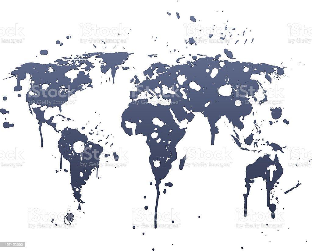 Ilustracin de mapa mundial graffiti azul y ms banco de imgenes de mapa mundial graffiti azul ilustracin de mapa mundial graffiti azul y ms banco de imgenes de gumiabroncs Choice Image