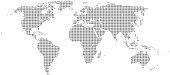 istock World Map Half Tone 1193272134