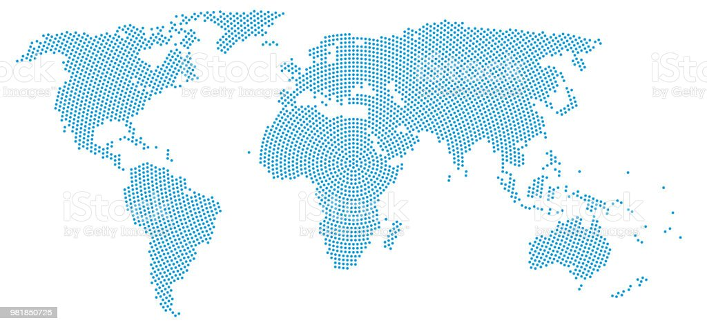 World map halftone printing technic stock vector art more images world map halftone printing technic royalty free world map halftone printing technic stock vector gumiabroncs Image collections