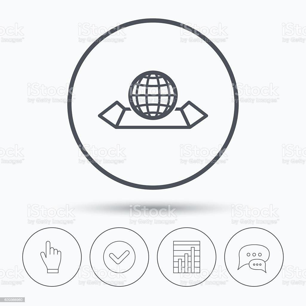 Ikona mapy świata. Glob znak. ikona mapy świata glob znak - stockowe grafiki wektorowe i więcej obrazów abstrakcja royalty-free