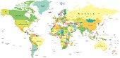 World Map - illustration